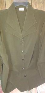 Stylish olive green blouse